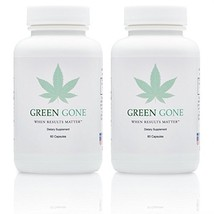 Green Gone 10 Day THC (Marijuana) Detox Kit - Permanent Cleanse, with 5 ... - $149.99