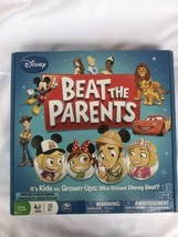 Disney BEAT THE PARENTS Board Game - Who Knows Disney Best? - $11.99