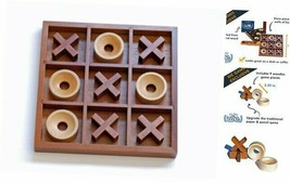 WE Games Tic-tac-Toe Wooden Board Game - $35.93