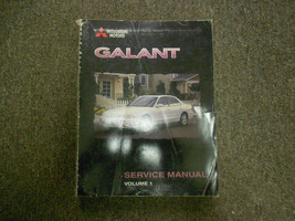 1998 Mitsubishi Galant Service Repair Manual Vol 1 Factory Oem Book 98 Deal - $22.17