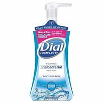 Dial Complete Foaming Antibacterial Hand Soap, Springwater Scent, 7.5 Oz,  - $4.99