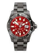 NWOT Victorinox Swiss Army Men's 241430 Dive Master 500 Black Ice Red Di... - $420.70