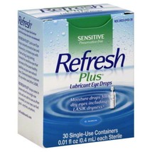 Refresh Plus Eye Drops 30S For Dry Eyes Free Shipping - $26.93