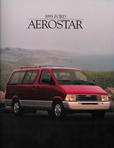 1995 Ford AEROSTAR sales brochure catalog 95 US XLT Extended - $6.00