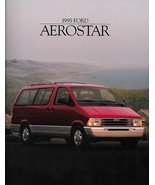 1995 Ford AEROSTAR sales brochure catalog 95 US XLT Extended - $6.00