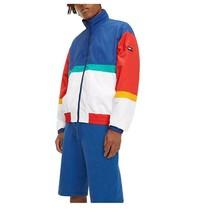 Jacket Man Tommy Jeans Hilfiger Denim White Multicolor Logo Vintage Urban - $146.99