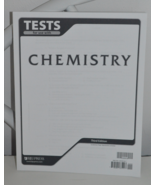 BJU Press Chemistry Tests 3rd Editiion - $10.95