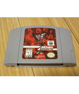 WWF Attitude (Nintendo 64, 1999) Tested, Cartridge Only, Tested - $9.49