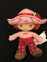 Strawberry Shortcake 2000s Plush Berry Orange Blossom Rag Doll Bandai Lo... - $7.99