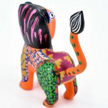 Handmade Alebrijes Oaxacan Copal Wood Carving Folk Art Lion Figurine image 4