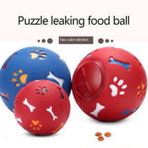 Dogs Leak Food Puzzle Ball Interactive IQ Treatment Training Dog Bite Pet Toys - $7.22