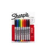 Sharpie Ultra Fine Point Permanent Markers, Assorted Colors 8 Pens - $15.55