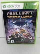 Minecraft Story Mode A Tell Tale Games Series Season Pass Disc Xbox 360 EUC - $14.99