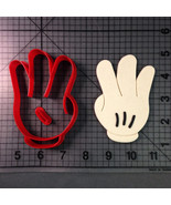 Mouse Hand Number 3 Cookie Cutter Set - $5.50+