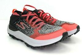Skechers Go Run Max Trail 5 Women's Orange, Black, Gray, Running Shoes Size 7 - $75.38