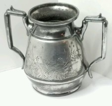 Antique Aesthetic Meriden B. Company  Silverplate Spooner,  Open Sugar o... - $18.95