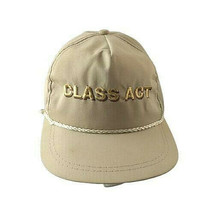 Class Act Golf Vintage K-Products Leather Strap Hat Made in USA Embroidered - $69.29