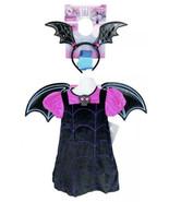 Disney Store Deluxe Vampirina Girls Vampire Costume 2T Headband Gloves B... - $34.99
