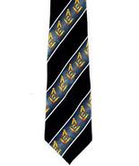 Freemasons Compass Striped Mens Necktie Mason Square Order Black Neck Ti... - $15.79