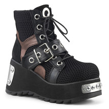 Demonia SCENE-53 Women's Ankle Boots SCE53/BVL-FN - $103.95