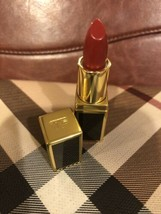 Tom Ford Lip Color Lipstick in Scarlet Rough #16 - Travel Size -NWOB - New/Fresh - $12.17