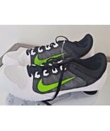 NEW Nike Zoom Rival MD 616312-103 Mens 10.5 Womens 12 White Green Black - $23.99