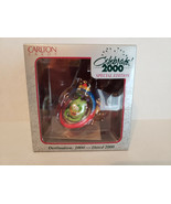 Carlton DESTINATION 2000 Ornament Original Box Spaceship Alien Celebrate... - $9.46