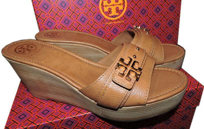 c99ad4b02b17  255 Tory Burch Beige Eloise Clogs Wedge and 50 similar items