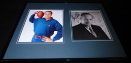 Craig T. Nelson Signed Framed 16x20 Photo Set JSA Coach Hayden Fox - $65.09