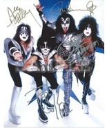 Watermarked kiss band signed 8x10 thumbtall