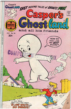 Casper's Ghostland #96 (Jul 1977, Harvey) Comic Book -  Complimentary Copy - $4.99