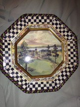 MACKENZIE-CHILDS MACLACHLAN DINNER PLATE - MINT 9 Available Rare - $232.65