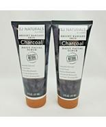 2X SJ Naturals by SJ Creations Inc Charcoal Daily Facial Scrub 6oz each - $26.95