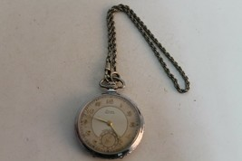 Rare Antique Vintage Old German Stowa Precision Mens Pocket  Watch. - $159.49