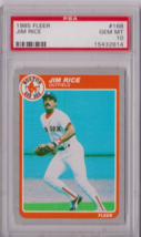 1985 Fleer Jim Rice #168 PSA 10 P653 - $28.95