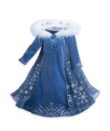 Girls Elsa Frozen Dress Up Movie Halloween Birthday Party 3-6 Years Gift... - $27.71+