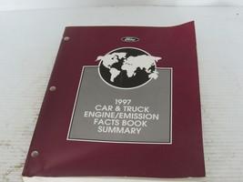 1997 FOrd Car & Truck Engine and Emissions Fact - $12.86