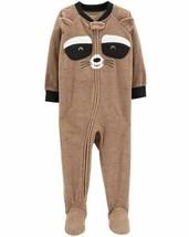 NWT Carters Racoon Baby Boys Footed Fleece Sleeper Pajamas.18 24 Months - $10.99