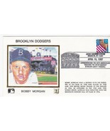 BROOKLYN DODGERS BOBBY MORGAN JACKIE ROBINSON STAD. BROOKLYN Y 4/15/1997... - $2.98