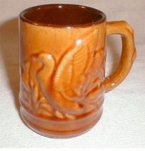 vintage Pottery Coffee mug Cup  Duck Outdoorsman Lexington VA  Canada  - $25.00