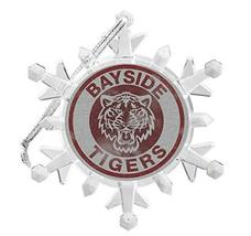 Saved by The Bell Bayside Tigers Snowflake Multi Colored Blinking Light ... - $16.31