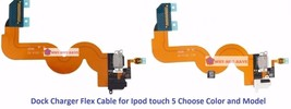 Charging Dock Headphone Jack Port Replacement Flex Part for Ipod Touch 5... - $16.49+