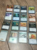Magic The Gathering Cards Lot Of 15 Plus Instruction Card - $7.43