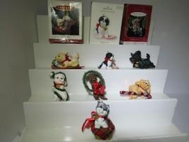 Lot of 7 Hallmark Keepsake Puppy Love Dogs Series, Puppy Ornament - $49.50