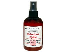 Delicious Apple  Body Spray - Handmade Spray / Body Spray / Room Spray / Body Mi - $8.49