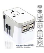Travel Adapter 4USB Port 220v Standard Grounding Commercial Power Plug E... - $35.99
