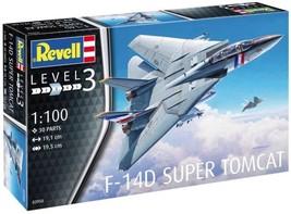 Revell 1/100 F-14D Super Tomcat Plastic Model Kit - $22.00