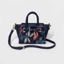 Merona Messenger Small Cross body Bag - Floral Purse - $19.34