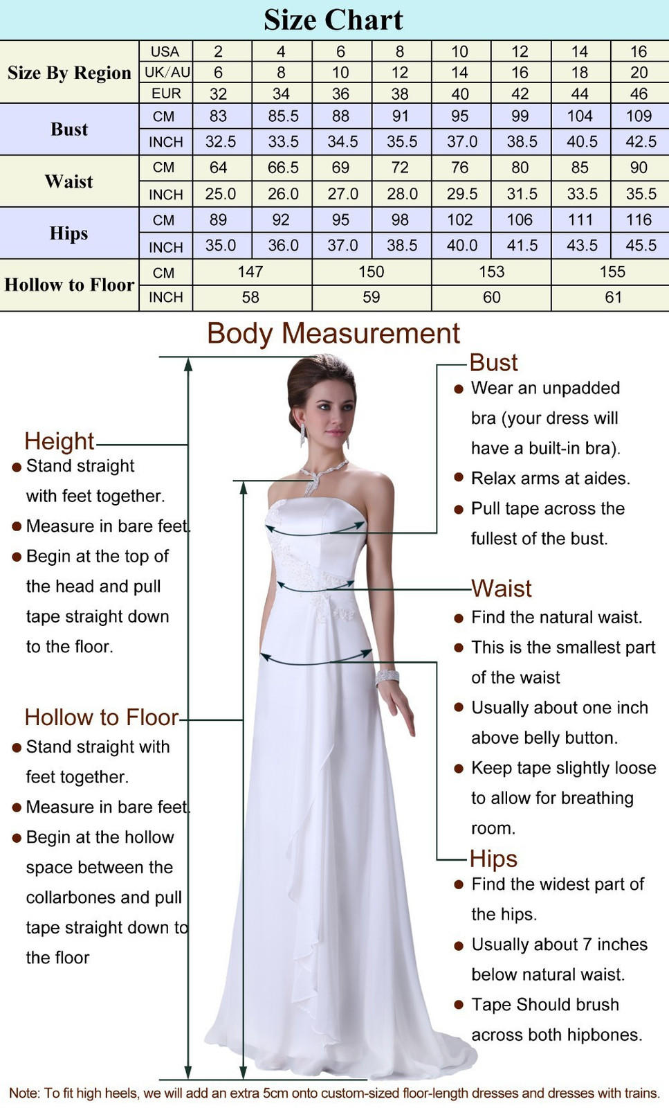 White Chiffon Beach Wedding dress prom dress or party dress  at Bling Brides