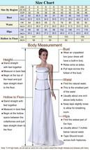 White Chiffon Beach Wedding dress prom dress or party dress  at Bling Brides  image 6